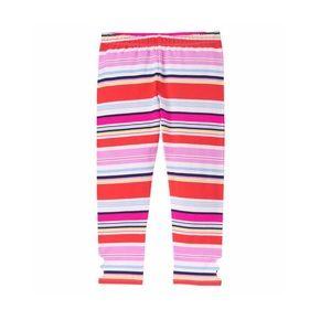NWOT Gymboree Striped Leggings Size 10/12